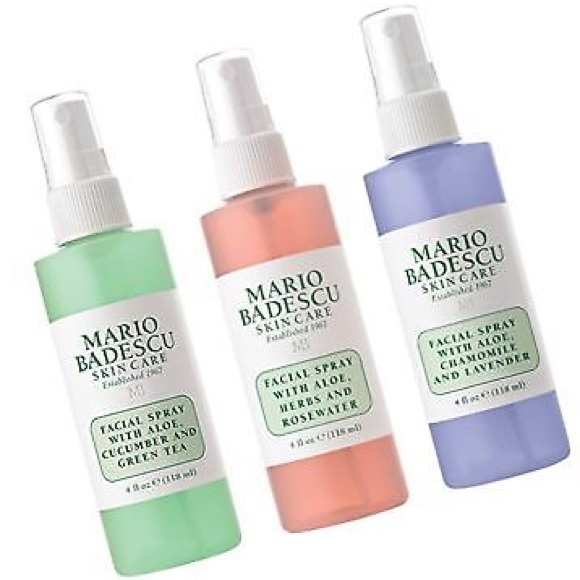 4oz Trio 3 Mario Badescu Facial Spray Bottles Boutique
